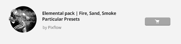 Particle Builder | Elemental Pack: Fire Sand Smoke Sparkle Particular Presets - 25