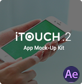 iTouch |  Echte Mock-Up Kit - 4