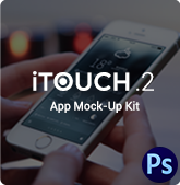 iTouch 2 | App Promo Mock-Up Kit - 21