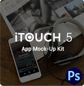 iTouch 2 | App Promo Mock-Up Kit - 25
