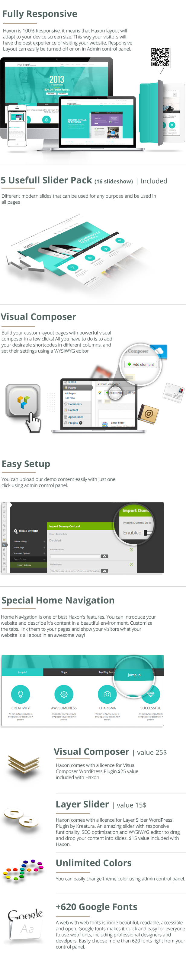 Haxon - Responsive Business Theme