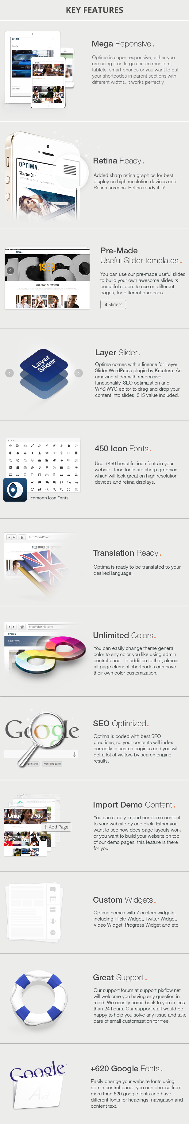 Optima - Simple Magazine WordPress Theme