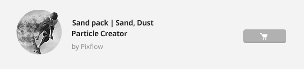 Particle Builder | Sand Pack: Dust Sand Storm Disintegration Effect Vfx Generator - 23