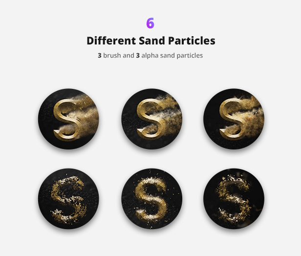 Particle Builder | Sand Pack: Dust Sand Storm Disintegration Effect Vfx Generator - 14